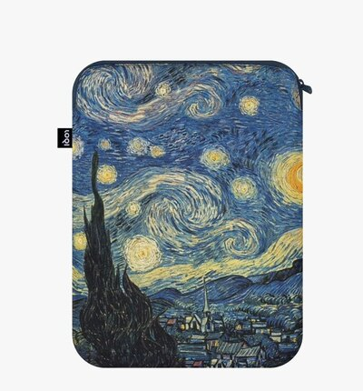 0 The Starry Night Recycled LapTop Cover VINCENT Van Gogh