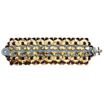 0 The Wide Bracelet Multi gold