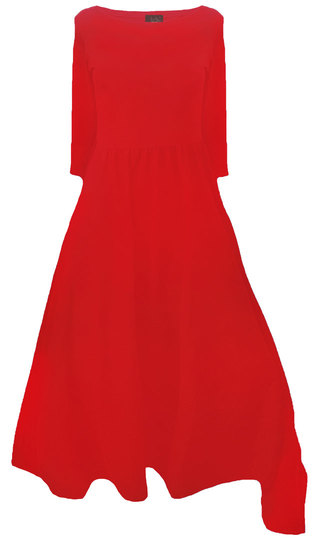 0 Today Dress Red