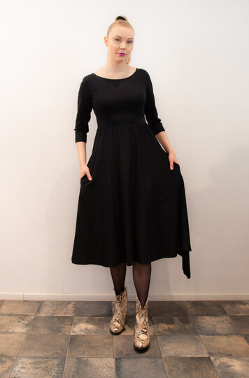 0 Today Dress-Mekko Black