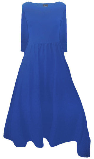0 Today Dress-Mekko Royal Blue