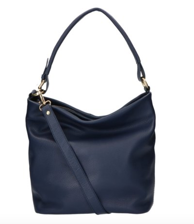 0 Tote Bag Beau Veau Dark Blue
