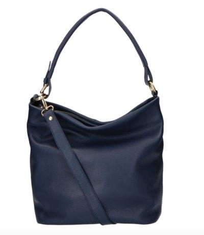 0 Tote Bag Beau Veau Dark Blue