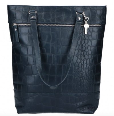 0 Tote Shoulderbag Vintage Croco