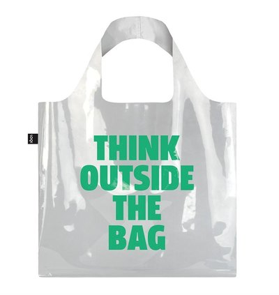 0 Transparent Think Outside The Bag Bag