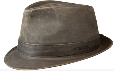 0 Trilby Leatherlike Waxed Cotton