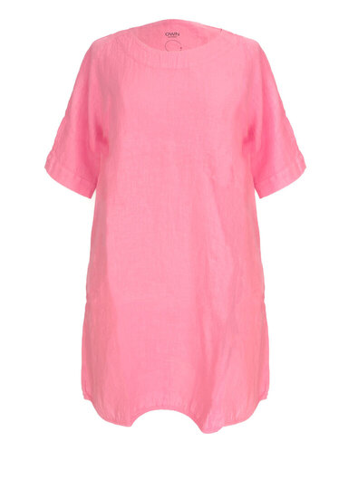 0 Tunic Dress Pink