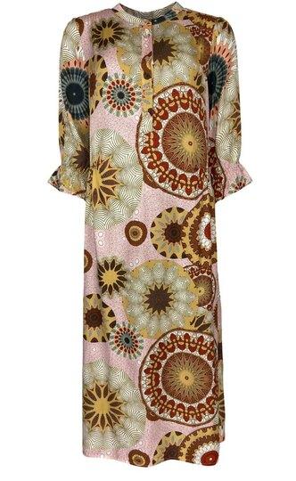 0 Twin Dress Silk-viscose
