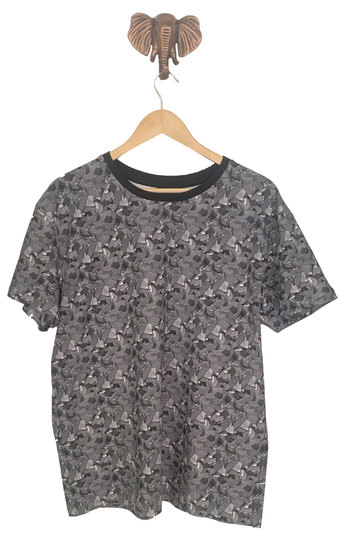 0 Urho Teepaita/T-shirt Beowulf Iron Scale