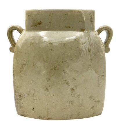 0 Vase creme Taupe