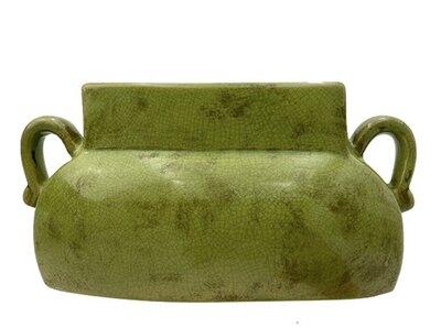 0 Vase vintage green