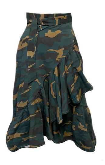 0 Veera Wrap Skirt Camouflage