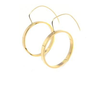 0 Waverly Gold Earrings/Korvarenkaat