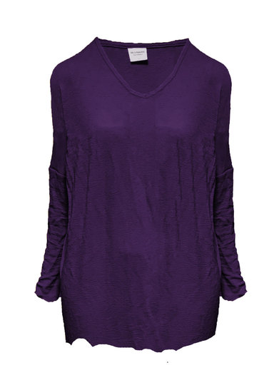 0 Wide Tunic Aubergine