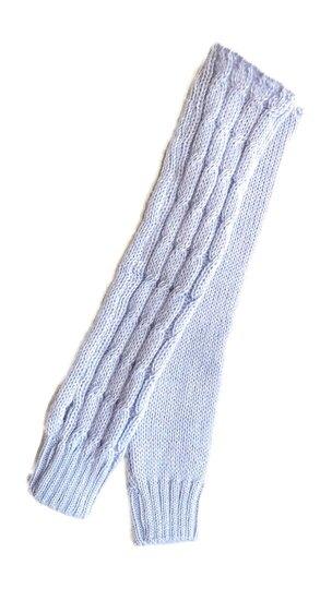 0 Wool Braids Gloves Lavender Blue
