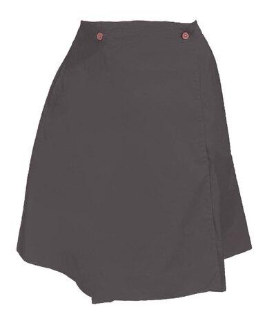 0 Wrap Around Skirt Short/kietaisuhame lyhyt black