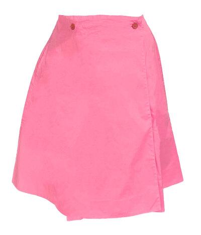 0 Wrap around skirt short/kietaisuhame lyhyt Pink