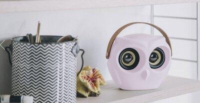 0 aOwl Bluetooth kaiutin Dusty Pink