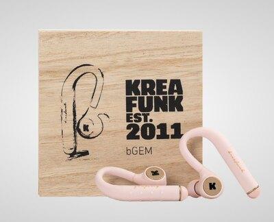 0 bGem Bluetooth in-ear headphones dusty pink - nappikuulokkeet dusty pink