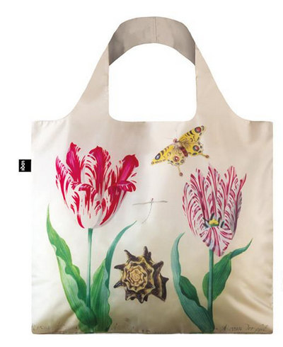 JACOB MARREL Two Tulips, 1637-45 & IRMA BOOM DNA 03 Bag