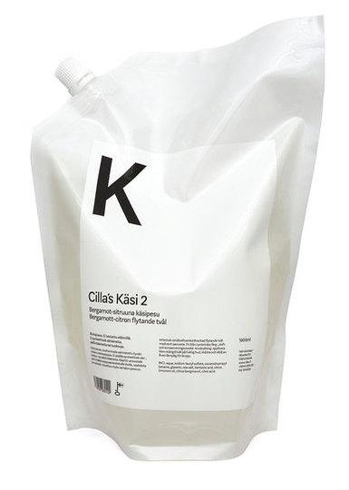 KÄSI 02 Käsienpesuaine sitruuna-bergamotti täyttöpakkaus