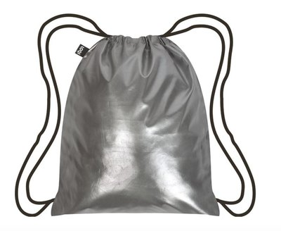 METALLIC SILVER - Backpack