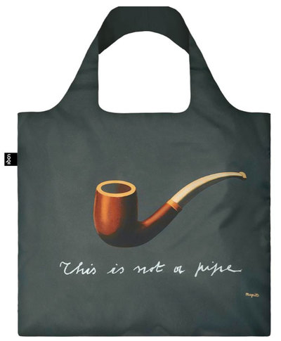RENE MAGRITTE The Treachery of Images Bag