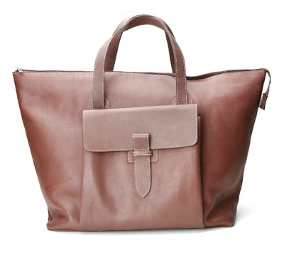 Retro Travel Bag Brown