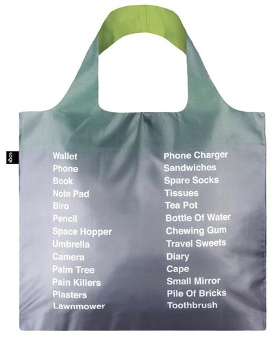 Type Things to Pack © Erik Kessels Bag