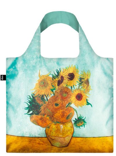 VINCENT VAN GOGH Vase with Sunflowers Bag