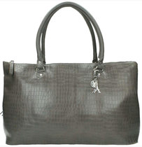 0 Bag Crocodilian Grey