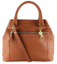 0 Beau Veau Hand Bag Cognac