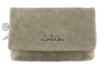 0 Bovine Medium Clutch Grey