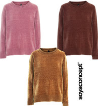 0 Naina Velourknit Sweater (3 väriä/3 colours)