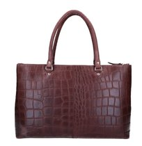 0 Bag 37 Vintage Croco Bordeaux