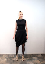 0 Beehive I Dress Petit Wrap Black