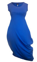 0 Beehive I Dress Royal Blue