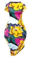 0 Beehive Tee Dress Wrap Flower Storm