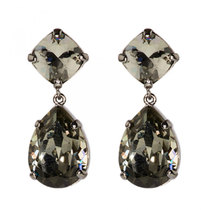 0 Black diamond earrings