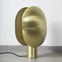 0 Clam Table Lamp Brass