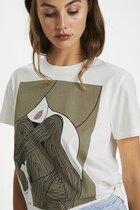 0 Dame T-shirt organic cotton