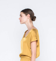 0 Gentle Fluidity Blouse Gold/Black ( 2 väriä/2 colours)