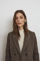 0 Gulva Checked Wool Coat