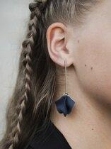 0 Harju nappikorvakorut / Stud Earrrings  Tummansininen