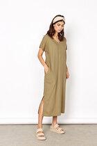0 Ina Dress Sahara Green Linen Viscose