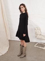 0 Knit Dress cotton experience black