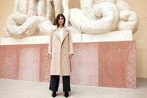 0 Kobra Wool trench coat/Villakangastrenssi