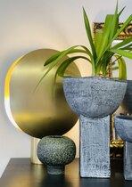 0 Koop Ball Vase Mini Dark Green