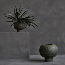 0 Koop Ball Vase Mini Dark Green