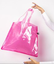 0 Loqi Transparent Pink Bag